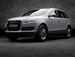 Car Wallpaper - Audi Q7 quattro