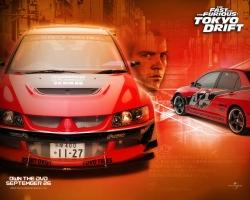 Movie Wallpaper - Tokyo drift