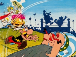 Animated/Cartoon Wallpaper - Asterix n Obelix