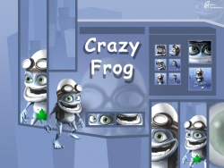 3D and Digital art Wallpaper - Crazy frogs