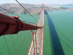Landscape Wallpaper - Red bridge