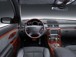 Car Wallpaper - Maybach interior