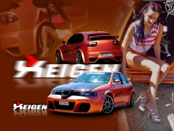 Car Wallpaper - Seat Leon