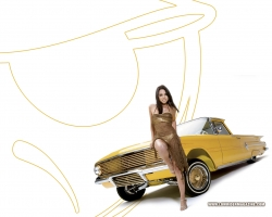 Car Wallpaper - Golden car
