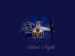 Christmas Wallpaper - Silent night - wallpaper