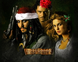 Christmas Wallpaper - Piracy of the Caribbean - merry christmas