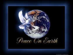 Christmas Wallpaper - Peace on earth