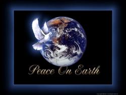 Christmas Wallpaper - Peace on earth