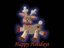 Christmas Wallpaper - Reindeer holidays