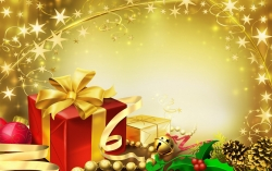 Christmas Wallpaper - Christmas gifts