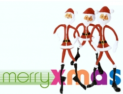 Christmas Wallpaper - Funny Santa Clause