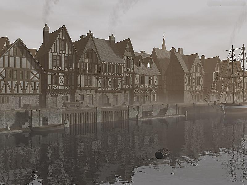Sea side port