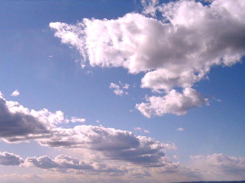 Light violet clouds