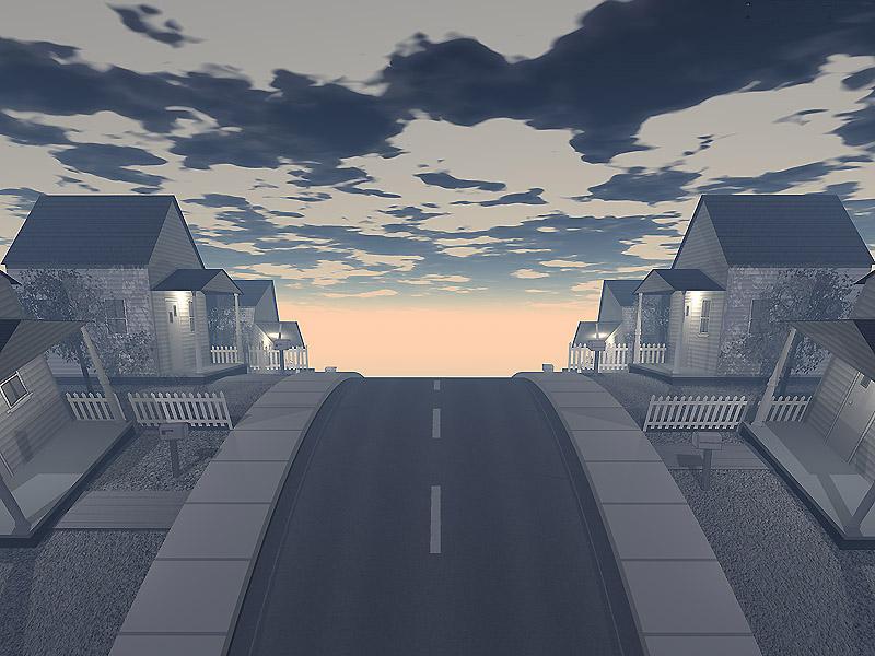 Up street