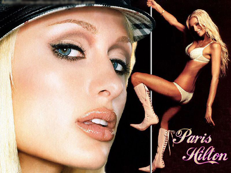 Paris Hilton - pole dancer