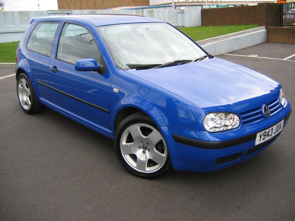 VW blue tuning