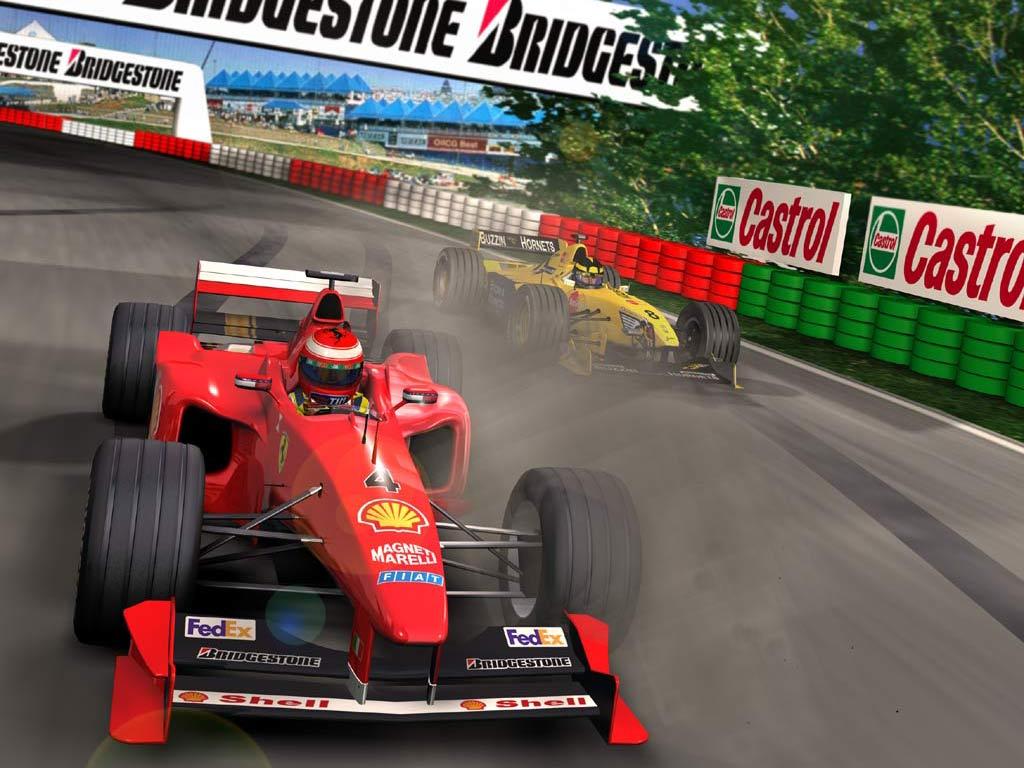 F1 racing Ferrari