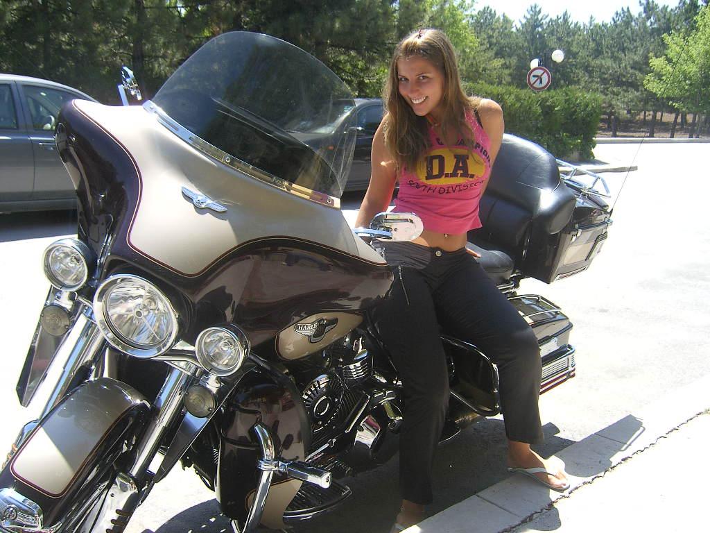 Harley moto