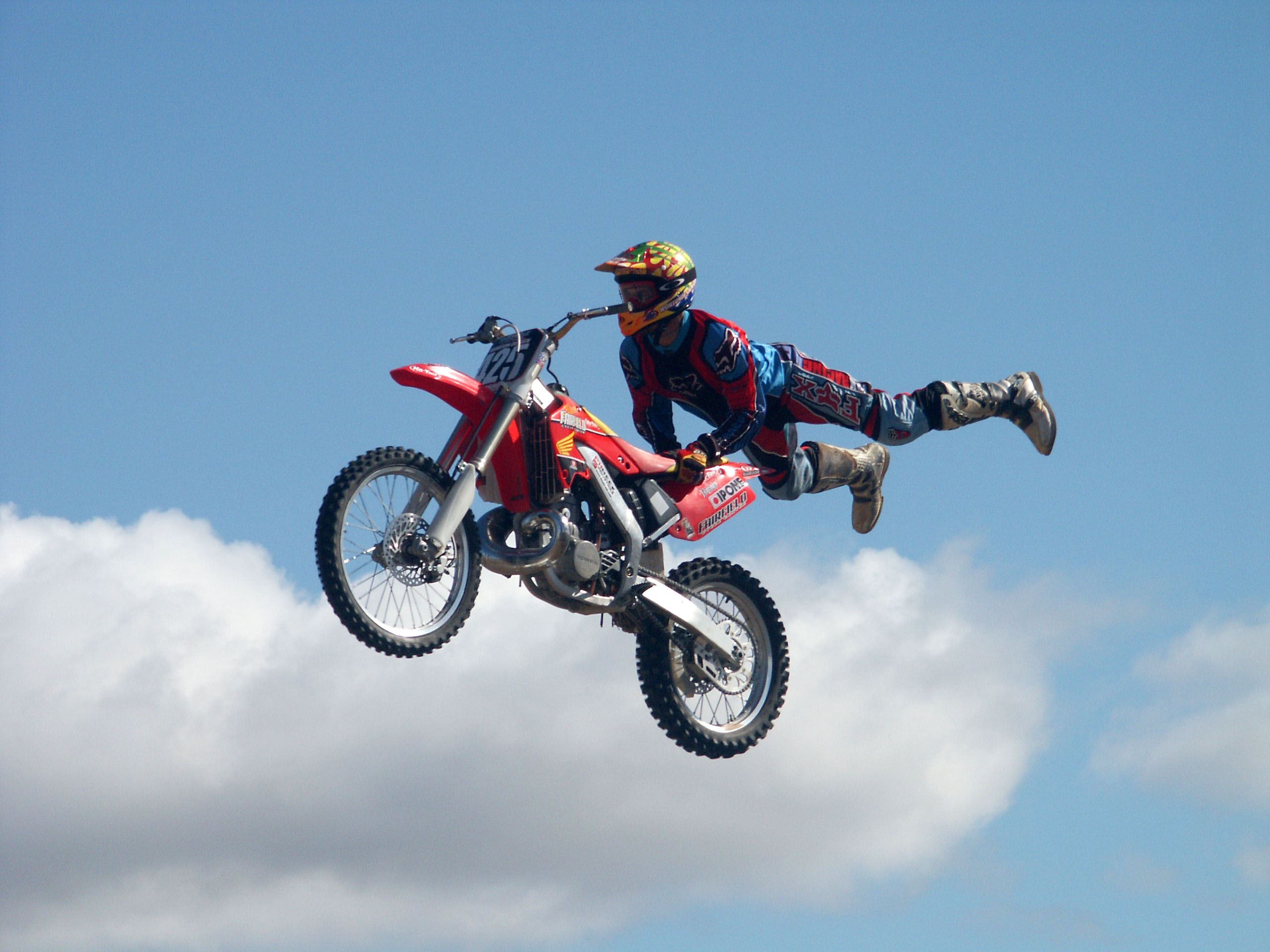 Motocross free style