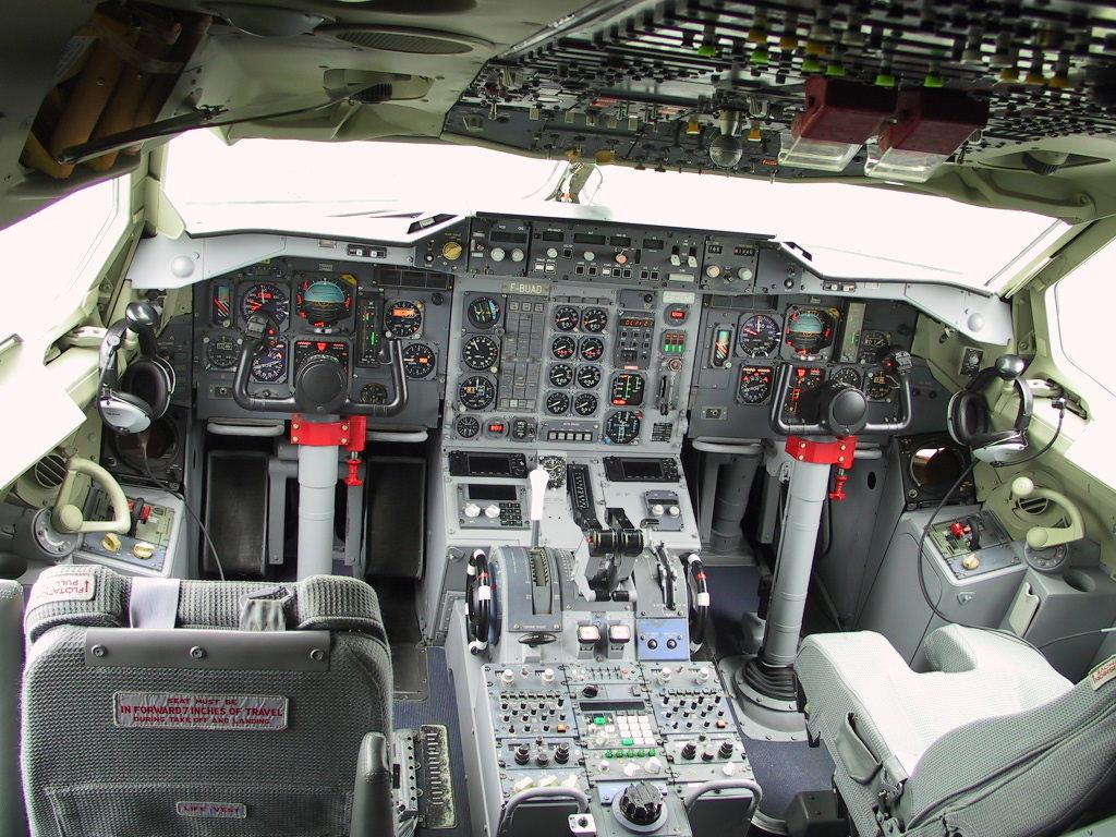 Plane interrior