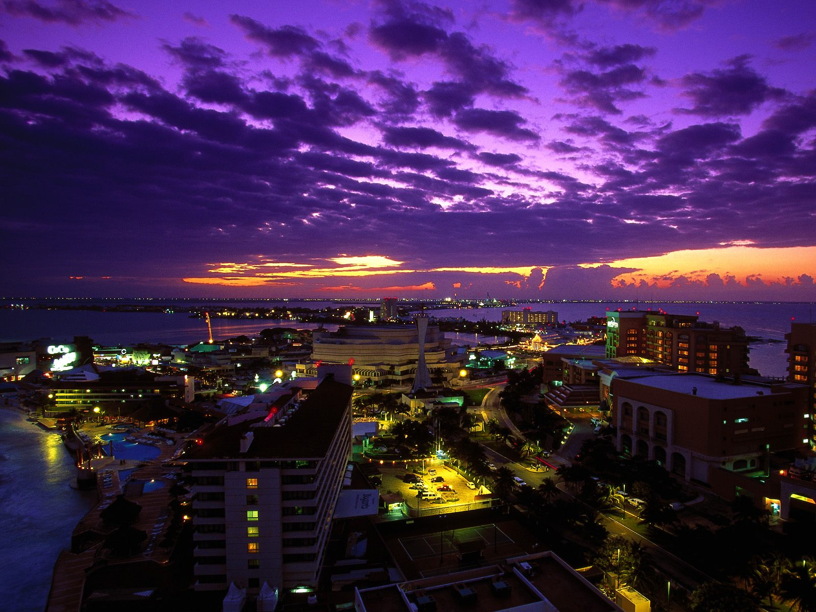 Cancun at Twilight