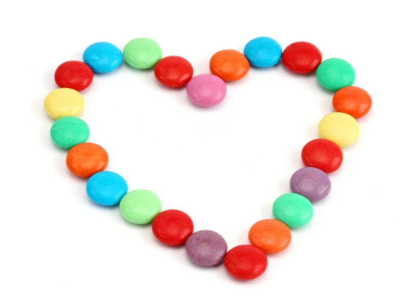 Valentine candy heart!