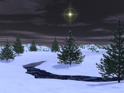 3D and Digital art Wallpaper - Silent nite