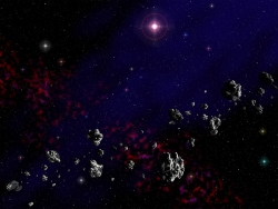 3D and Digital art Wallpaper - Cosmic dust