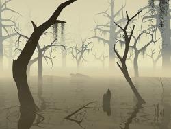 3D and Digital art Wallpaper - Swamp
