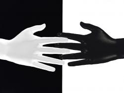 3D and Digital art Wallpaper - Ten fingers