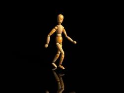 3D and Digital art Wallpaper - Walking wood
