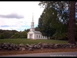 Landscape Wallpaper - Way to the church
