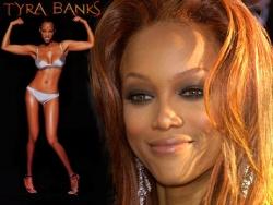 Bikini Wallpaper - Tyra in bikini