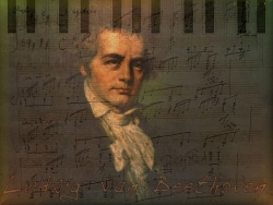 Celebrity Wallpaper - Ludwig Beethoven