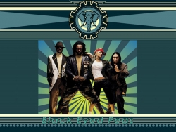 Music Wallpaper - Black eyed peas