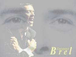 Celebrity Wallpaper - Jacques Brel
