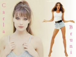 Celebrity Wallpaper - Carla Bruni