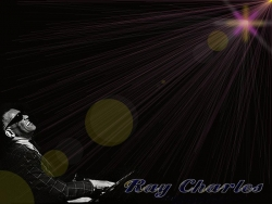 Celebrity Wallpaper - Ray Charles