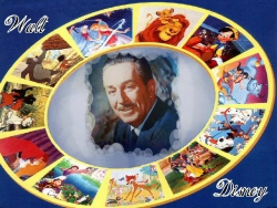 Celebrity Wallpaper - Walt Disney