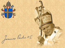 Celebrity Wallpaper - Joannes Paul II