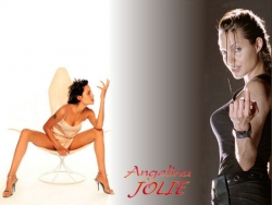 Celebrity Wallpaper - Jolie