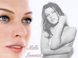 Celebrity Wallpaper - Milla Jovovich