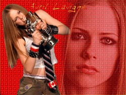 Celebrity Wallpaper - Lavigne Arvil