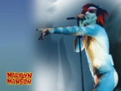 Music Wallpaper - Marilyn Manson