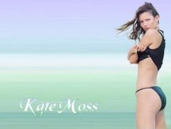 Model Wallpaper - Kate Moss