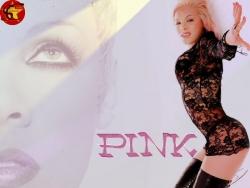 Model Wallpaper - Pink