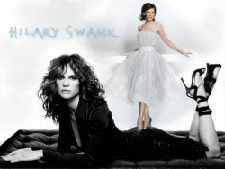 Celebrity Wallpaper - Hilary Swank