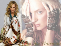 Celebrity Wallpaper - Uma Thurman