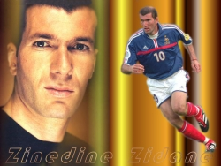 Celebrity Wallpaper - Zinedine Zidane