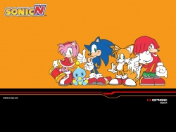 Animated/Cartoon Wallpaper - Sonic N